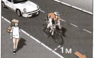 Является ли велосипедист водителем