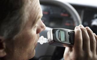 Действия инспектора ДПС при остановке пьяного водителя