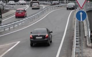 Штраф за неуступление дороги автомобилю