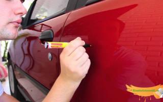 Восстановление лакокрасочного покрытия кузова автомобиля своими руками