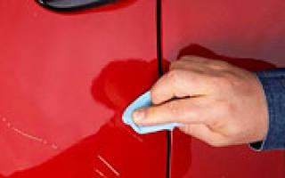 Как вывести царапины на кузове автомобиля