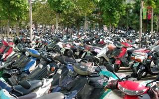 Как оформить скутер без документов
