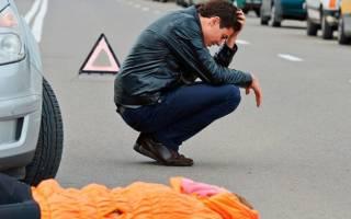 ДТП на пешеходном переходе со смертельным исходом