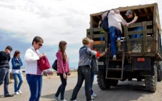 Правила перевозки людей в кузове грузового автомобиля