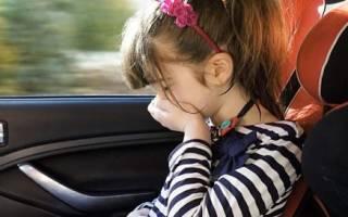 Почему укачивает в машине на заднем сидении