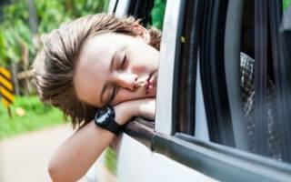 Почему укачивает в машине взрослого