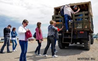 Штраф за перевозку пассажиров в грузовом фургоне