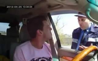 Что нужно знать водителю при остановке ДПС